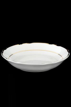 Набор салатников 19 см, 6 шт THUN. Цвет: белый, золотой