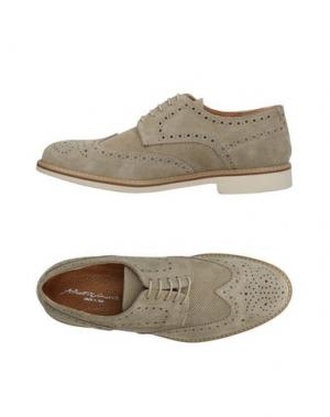 Обувь на шнурках ALBERTO MORETTI. Цвет: светло-серый