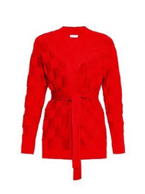 Кардиган Smart Casual Wooly's. Цвет: красный