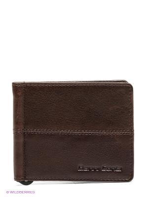 Зажим для денег Gianni Conti. Цвет: коричневый
