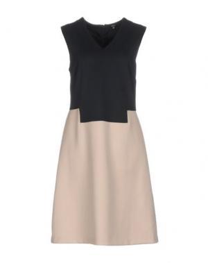 Короткое платье RAOUL. Цвет: темно-синий