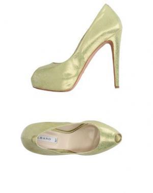 Туфли ALBANO. Цвет: кислотно-зеленый