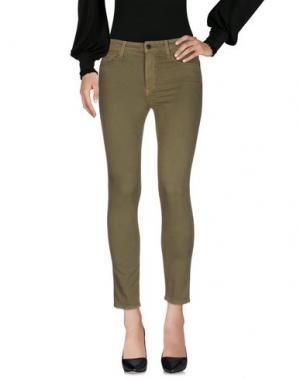 Повседневные брюки GENETIC DENIM. Цвет: зеленый-милитари