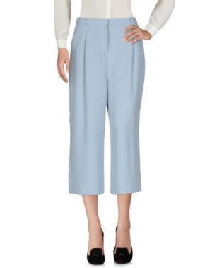 Повседневные брюки EMMA&GAIA. Цвет: небесно-голубой