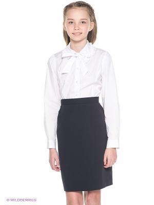 Блузка Cleverly. Цвет: белый
