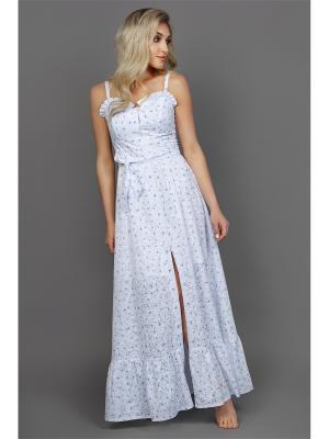 Платье сарафан, с воланом Welldress