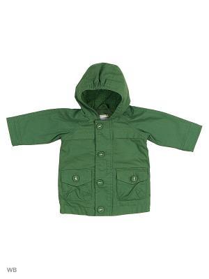 Куртка United Colors of Benetton. Цвет: зеленый