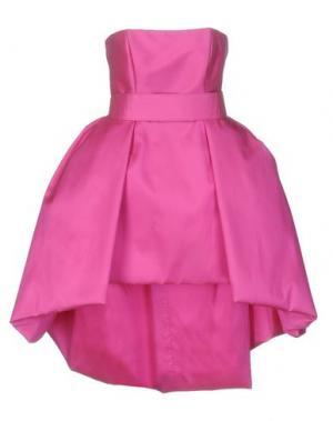 Короткое платье CAILAN'D. Цвет: фуксия