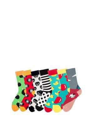 Носки Sammy Icon. Цвет: зеленый, красный, желтый