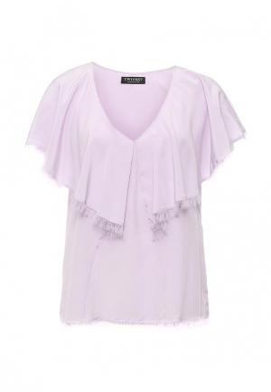 Блуза Twin-Set Simona Barbieri. Цвет: фиолетовый