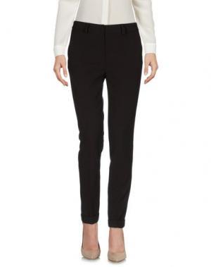 Повседневные брюки TWELVE-T. Цвет: темно-коричневый