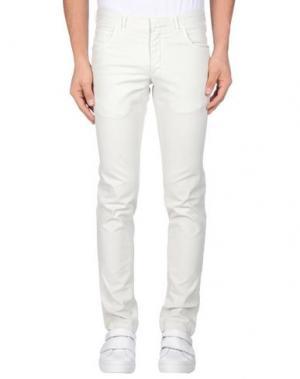 Повседневные брюки DOMENICO TAGLIENTE. Цвет: слоновая кость