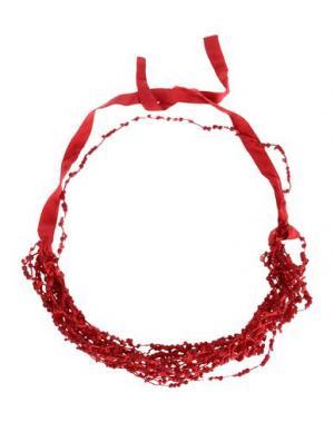 Ожерелье MARIA CALDERARA. Цвет: красный
