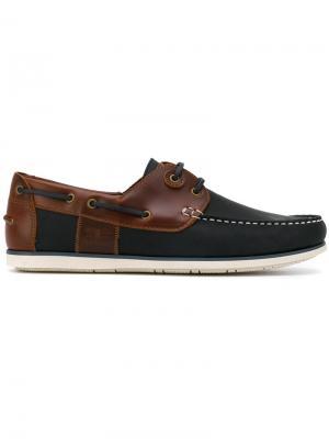 Capstan boat shoes Barbour. Цвет: синий