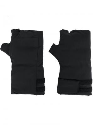Перчатки без пальцев Julius. Цвет: чёрный