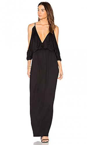 Платье nia De Lacy. Цвет: черный