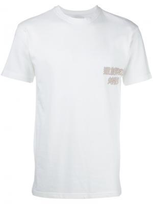 Базовая футболка Han Kjøbenhavn. Цвет: белый