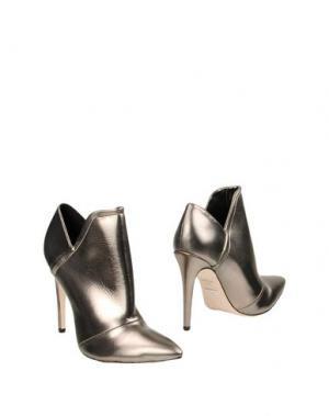 Ботинки CECCONELLO. Цвет: свинцово-серый