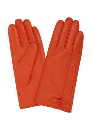 Перчатки Gusachi. Цвет: оранжевый