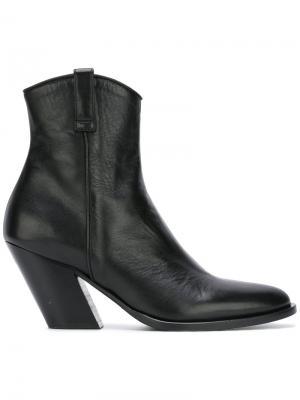 Ботинки в ковбойском стиле A.F.Vandevorst. Цвет: чёрный