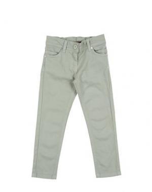 Повседневные брюки MANILA GRACE DENIM. Цвет: светло-зеленый