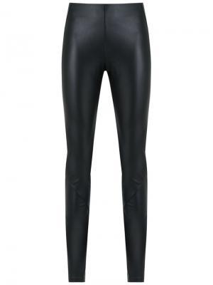 Panelled leggings Adriana Degreas. Цвет: чёрный