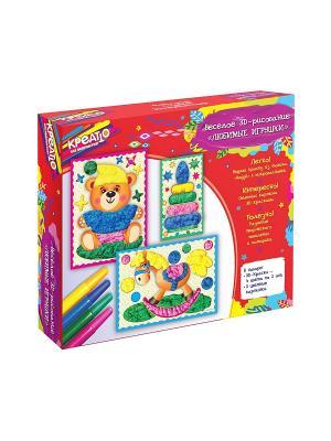 Веселое рисование Любимые игрушки КРЕАТТО. Цвет: красный, зеленый, синий