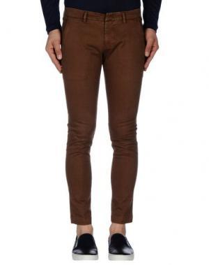 Повседневные брюки MASSIMO BRUNELLI. Цвет: какао