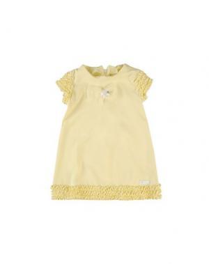 Платье NANÁN. Цвет: желтый