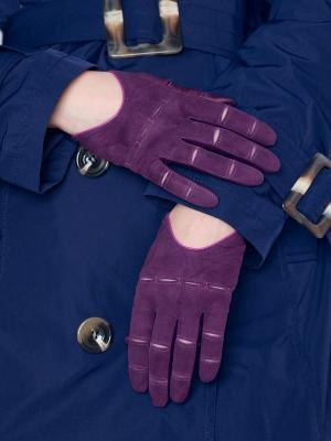 Перчатки Eleganse. Цвет: розовый, фиолетовый