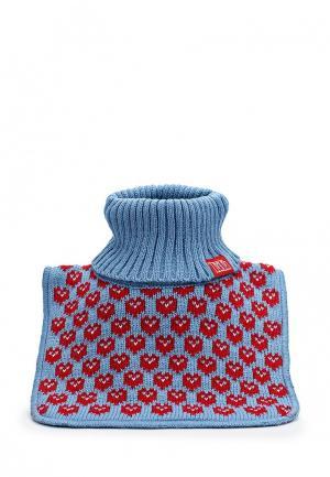 Воротник Tutu. Цвет: голубой