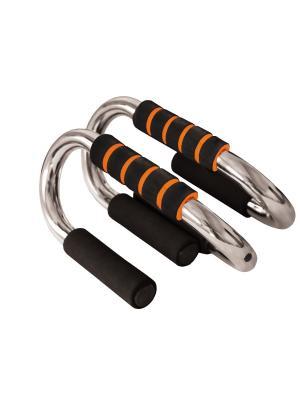 Упоры для отжиманий (металлические) Atemi, APU-02 Atemi. Цвет: оранжевый
