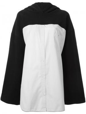 Объемная толстовка Wanda Nylon. Цвет: чёрный