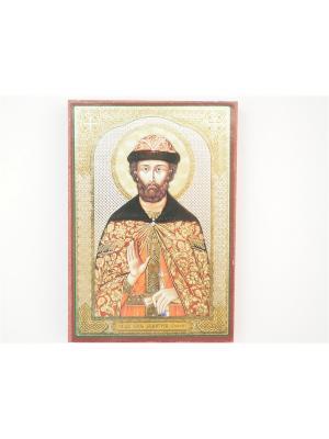 Именная икона Дмитрий Донской Bethlehem Star. Цвет: коричневый