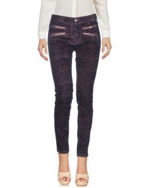 Повседневные брюки 0039 ITALY. Цвет: розовато-лиловый