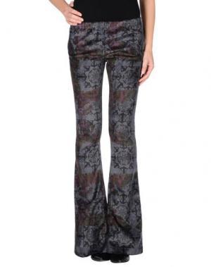 Повседневные брюки AMARANTO. Цвет: фиолетовый