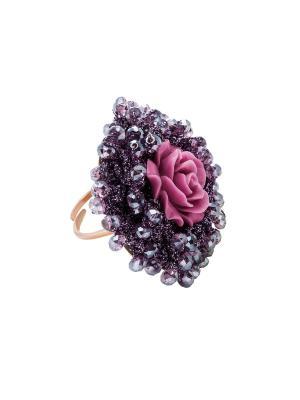 Кольцо ZOCCAI. Цвет: розовый