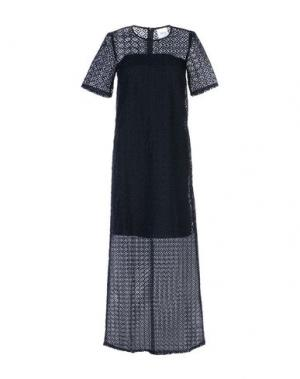 Длинное платье EDIT. Цвет: черный