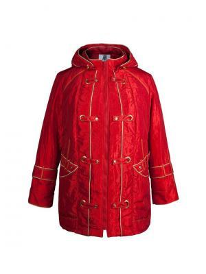 Куртка KR. Цвет: красный