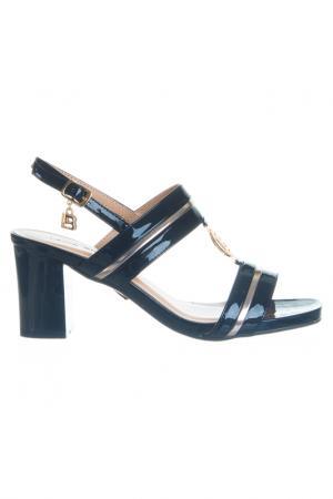 High heels sandals Laura Biagiotti. Цвет: black