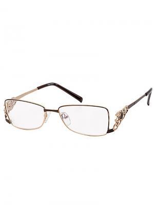 Очки готовые FM044-C13/-1,0 Grand. Цвет: коричневый, золотистый
