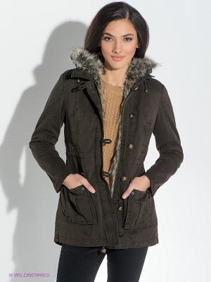 Куртка GUESS. Цвет: коричневый