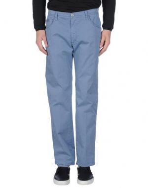 Повседневные брюки MAESTRAMI. Цвет: пастельно-синий