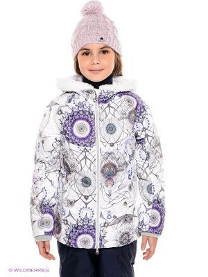 Куртка Stayer. Цвет: белый, серый, фиолетовый