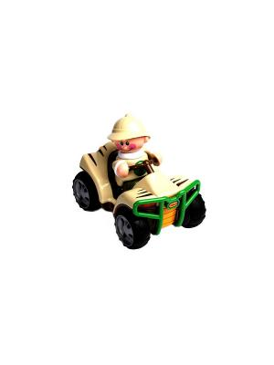 Игрушка Сафари Квадроцикл Tolo. Цвет: бежевый