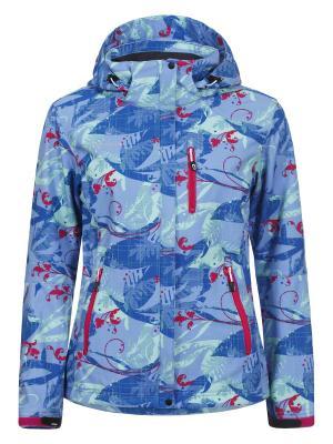 Куртка Icepeak. Цвет: серый, красный, темно-синий