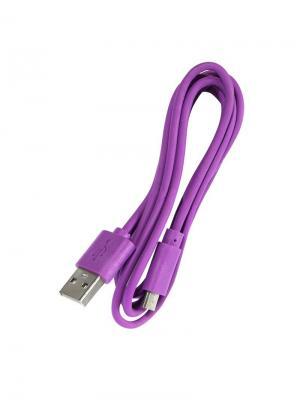 Дата-кабель micro/USB IQ Format. Цвет: фиолетовый