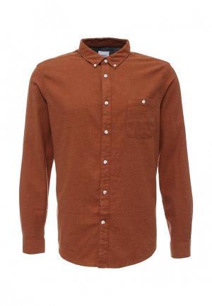 Рубашка Burton Menswear London. Цвет: коричневый
