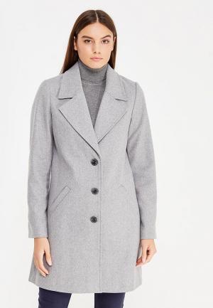 Пальто Tom Tailor. Цвет: серый
