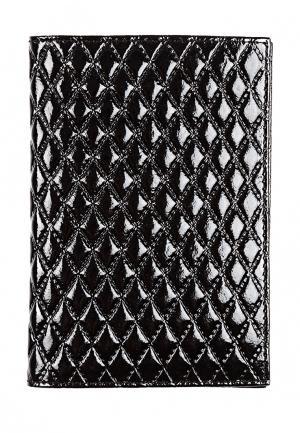 Обложка для документов Zinger. Цвет: черный